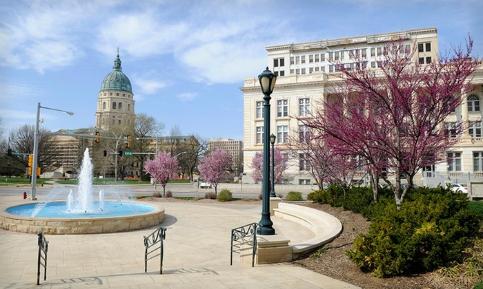 null - Kansas City: Stay at Capitol Plaza Hotel-Topeka in Topeka, KS. Dates Available Into September.