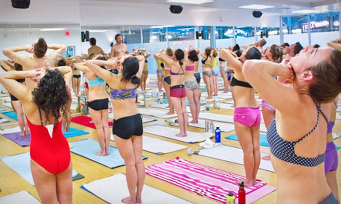 Bikram Yoga Vancouver - Multiple Locations: 10 or 20 Bikram Yoga Classes or One or Two Months of Unlimited Classes at Bikram Yoga Vancouver (Up to 79% Off)