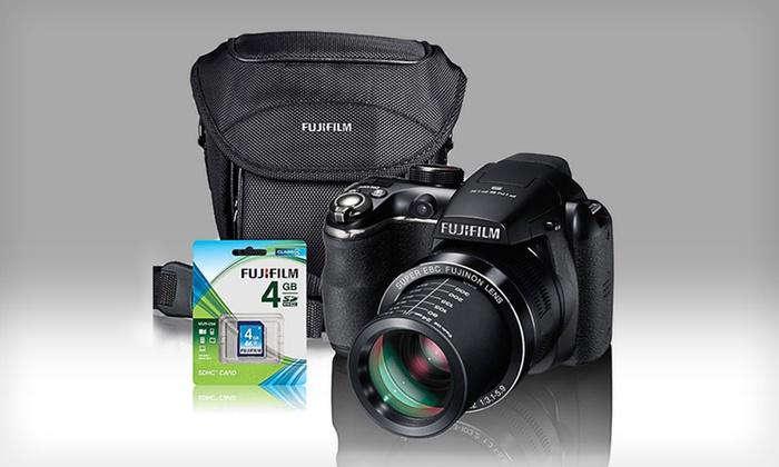 Fuji FinePix S4400 Digital Camera Gift Bundle: $149.99 for Fuji FinePix Digital Camera Gift Bundle with 4 GB Memory Card ($243.92 List Price). Free Shipping & Returns.