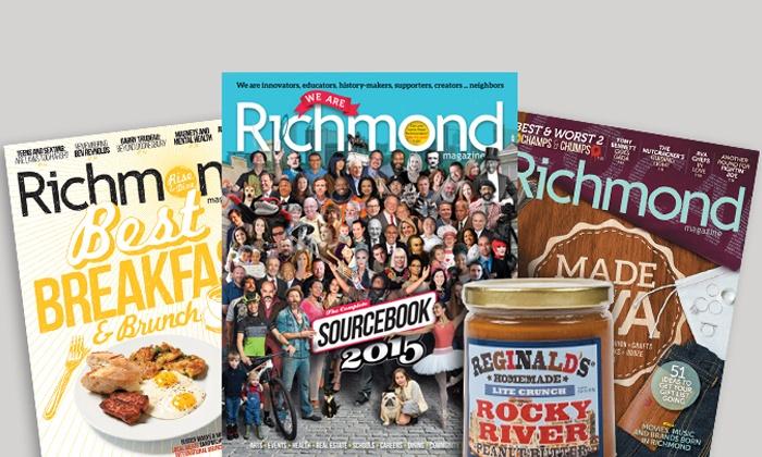"Richmond Magazine - Richmond: $17 for a Two-Year Subscription to ""Richmond"" Magazine ($34 Value)"