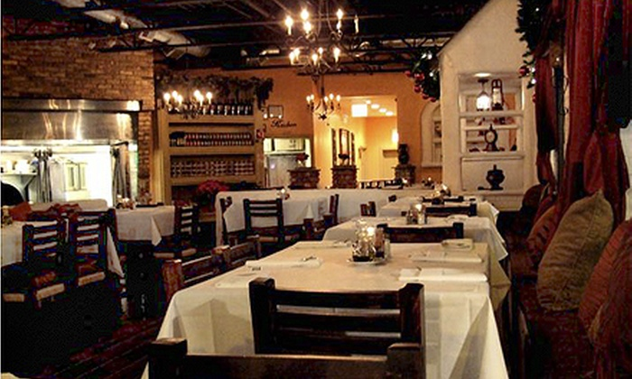 Melanthios Greek Char House - Lakeview: $20 for $40 Worth of Southern Greek Food, Steaks, and Drinks for Dinner at Melanthios Greek Char House