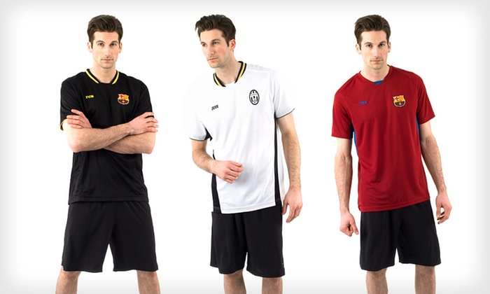 European Soccer Shirts: $16 for a European Soccer Shirt ($32 List Price). Multiple Styles and Sizes Available. Free Shipping and Free Returns.