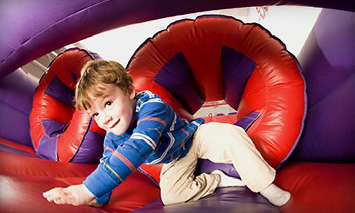 BounceU - Greensboro: Three or Five Bounce Sessions at BounceU (Up to 56% Off)