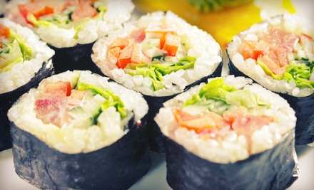 Sushi and Japanese Cuisine at Little Tokyo (Half Off). Two Options Available.