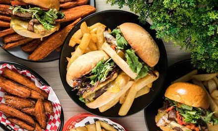 Burger and Fries for One ($10) or Two People ($19) at Burgers N Shakes (Up to $41.80 Value)