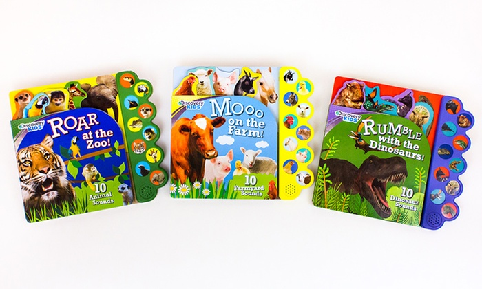 Discovery Kids Giant Board Books with Sound: Discovery Kids Giant Board Books with Sound