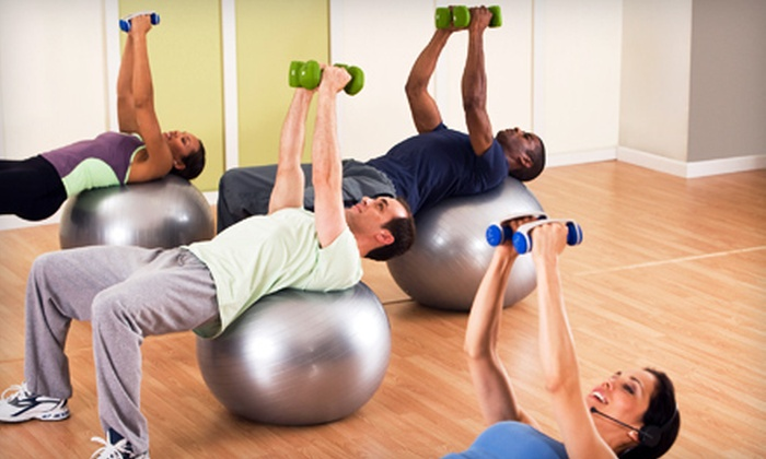 Reading Athletic Club - Reading: 10 or 15 Cardio Strength Training or Boot-Camp Classes or One-Month Membership at Reading Athletic Club (Up to 76% Off)