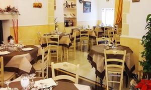 Palazzo Dante (Racale): Menu di pesce Mari del Salento con calice o bottiglia di vino per 2 o 4 persone da Palazzo Dante (sconto fino a 76%)