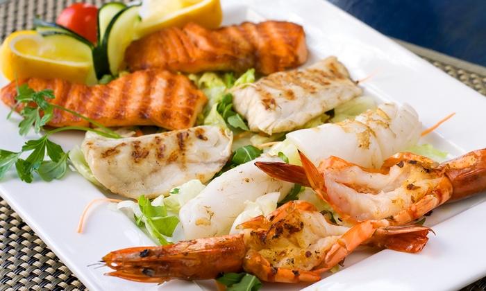 Ristorante il Panfilo - San Salvo (CH): Menu con 1 kg di frittura o grigliata di pesce, 1 kg di cozze e vino da 24,90 €