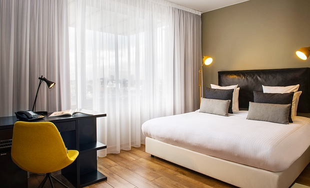 Tryp by wyndham antwerp in anvers groupon getaways for Design hotel antwerpen
