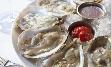 $39 for Oysters and Drinks for Two at Crab Spot Restaurant ($78 Value)