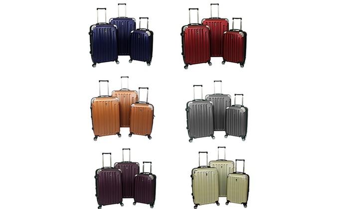 Heys USA Travel Concepts 3-Piece Hardsided Luggage Set: Heys USA Travel Concepts 3-Piece Hardsided Luggage Set