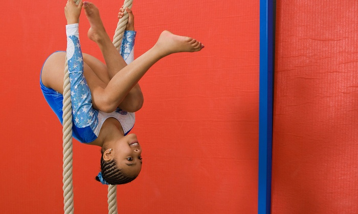 Kristi's Tumbling and Trampoline - Liberty: Seven-Week Gymnastics-Class Package, or Party for Up to 10 Children at Kristi's Tumbling and Trampoline (Up to 66% Off)