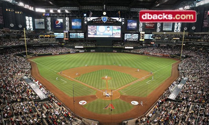 D-backs vs. Phillies - Chase Field: Arizona Diamondbacks Game Against Philadelphia Phillies (Up to Half Off). Three Games and Two Seating Options Available.