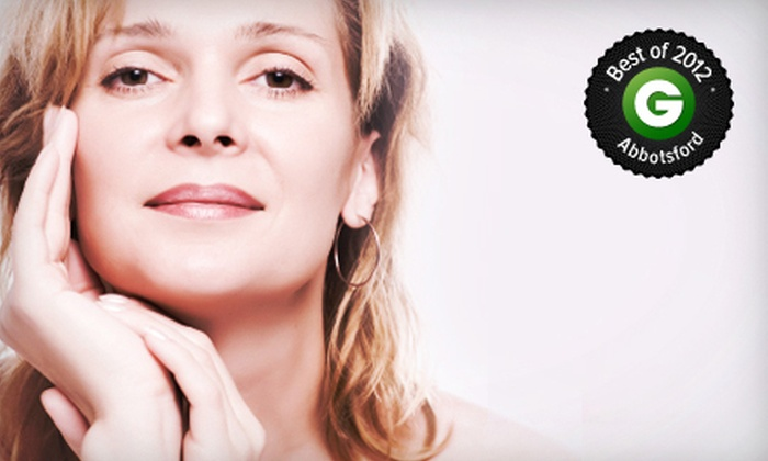 Mission Oaks Laser & Spa - Abbotsford: Two or Four Skin-Tightening Facial Treatments at Mission Oaks Laser & Spa (Up to 70% Off)