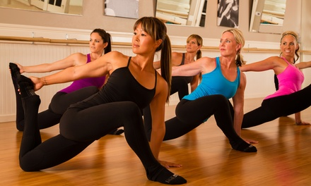 Five or Eight Barre Classes at Studio Barre – Newbury Park (Up to 57% Off)
