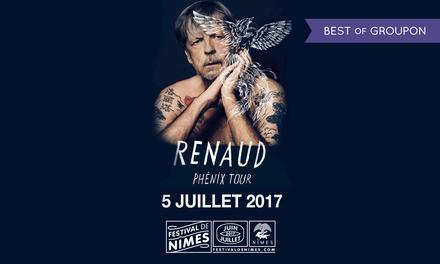 1 place pour Renaud et Gauvain Sers, catégorie au choix, le mercredi 5 juillet 2017 à 21h, dès 20 € aux Arènes de Nîmes