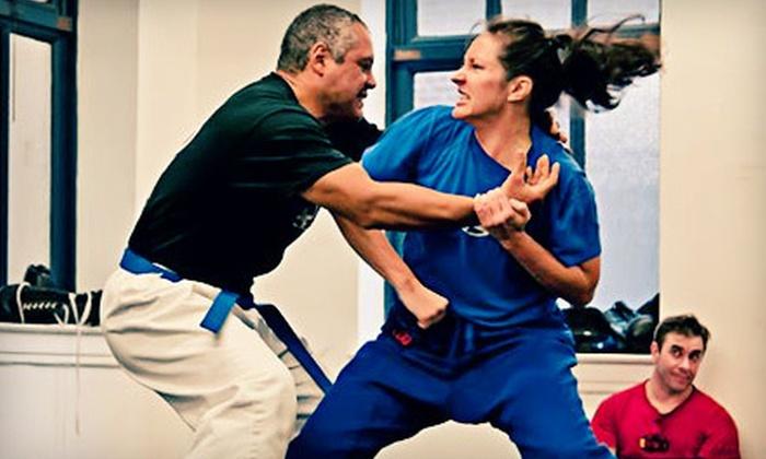 Brooklyn Krav Maga - North Side,Greenpoint: Four or Eight Self-Defense Classes at Brooklyn Krav Maga (Up to 66% Off)