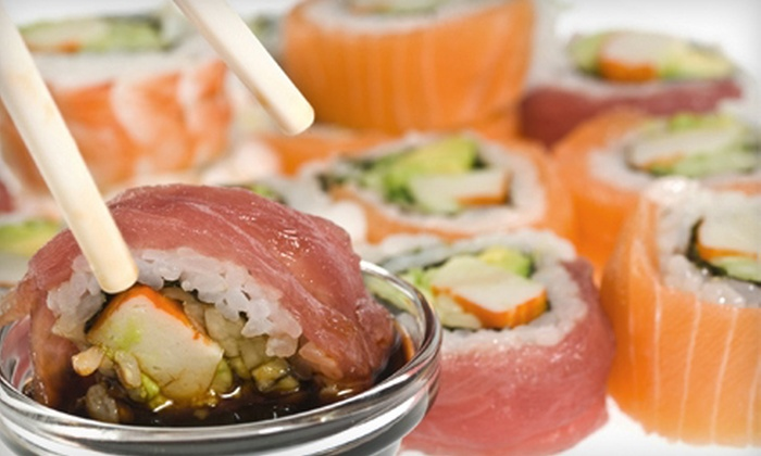 Ninja Sushi - West Bloomfield: $15 for $30 Worth of Sushi and Japanese Food for Dinner at Ninja Sushi in West Bloomfield Township
