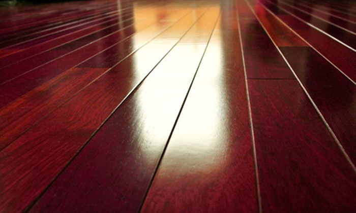 GREEN-KLEEN, LLC. - Houston: Hardwood-Floor Refinishing with Sealant for Up to 200 or 500 Square Feet from Green-Kleen, LLC (Up to 54% Off)