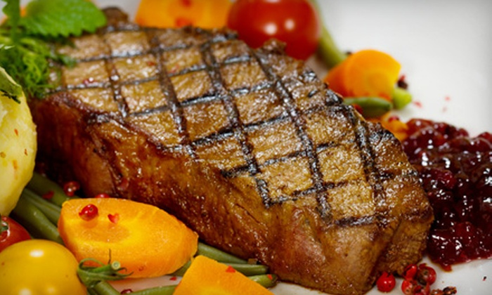 Vault Steak House - Madison: American Cuisine at Vault Steak House (Up to Half Off). Two Options Available.