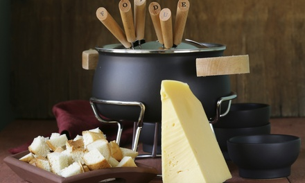 Cheese and Chocolate Fondue for Two or Four at Simply Fondue Queens (Up to 58% Off)
