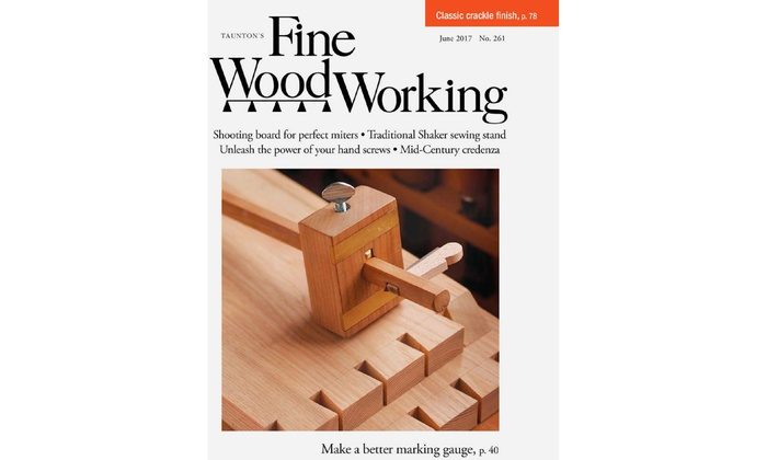 Up To 17 Off Fine Woodworking Magazine Subscription Groupon