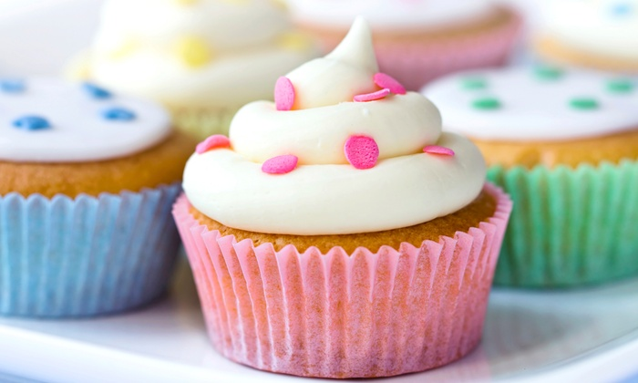 Swirlykins Cupcakes - Violet: One or Two Dozen Cupcakes at Swirlykins Cupcakes (45% Off)