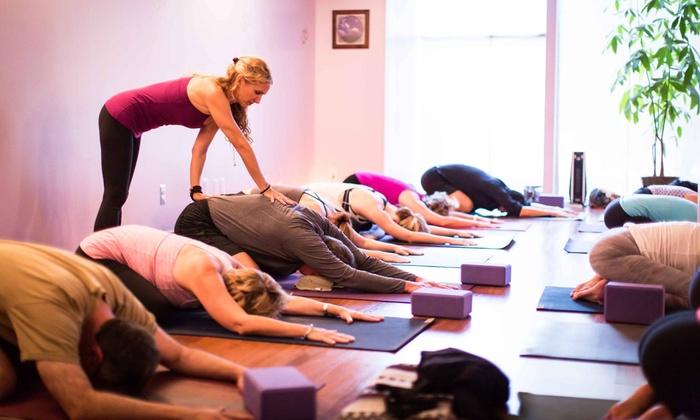 Karma Yoga - Bloomfield Village: Five Prenatal or Spirit Baby Yoga Classes, or Five Traditional Yoga Classes at Karma Yoga (72% Off)