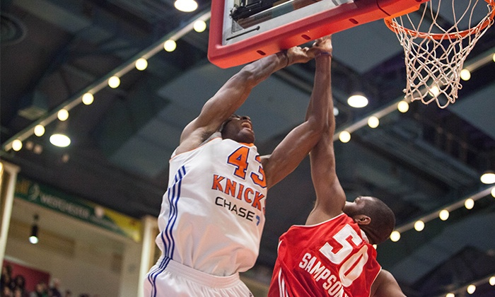 Westchester Knicks - Westchester County Center: Westchester Knicks Basketball Game at Westchester County Center on January 30 or February 6 or 21 (Up to 40% Off)