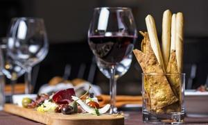 Bella Vita Wein Outlet: Wein-Degustation mit 4 Weinsorten inkl. Antipasti Italiani für 1 oder 2 Personen (bis zu 72% sparen*)