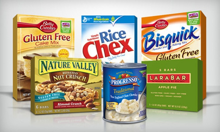 GlutenFreely.com: Gluten-Free Food and Products from GlutenFreely.com (Up to 54% Off). Two Options Available.