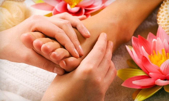 Blissful Sacred Space and Spa - Downers Grove: One or Three Reflexology Sessions with Peppermint Scrubs at Blissful Sacred Space and Spa (Up to 70% Off)