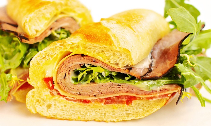 White Apron Specialty Sandwiches - Downtown - Penn Quarter - Chinatown: $13 for a Sandwich Meal for Two with Chips and Soft Drinks at White Apron Specialty Sandwiches (Up to $26.26 Value)