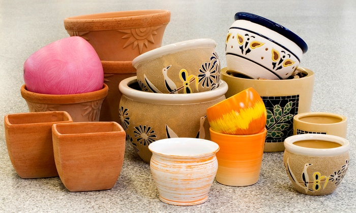 Clay Cafe - Grandview Heights: $15 for BYOB Paint Your Own Pottery Session with Materials at Clay Café ($30 Value)