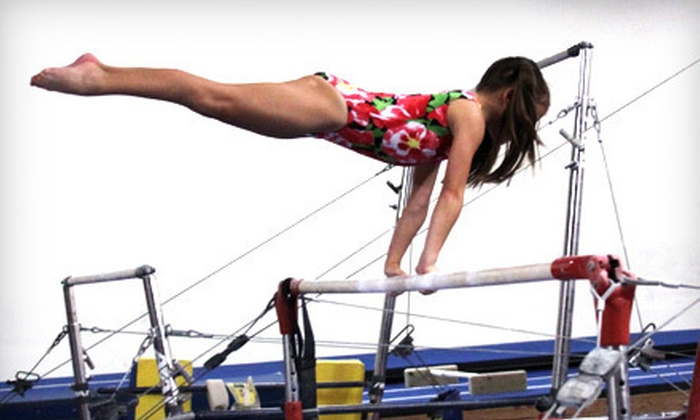 United Gymnastics Academy - Helotes: $30 for One Month of Kids' Gymnastics or Tumbling Classes at United Gymnastics Academy ($62 Value)
