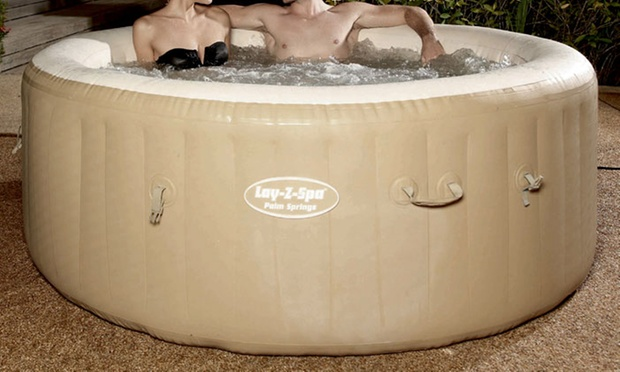 lay z spa inflatable hot tub groupon goods. Black Bedroom Furniture Sets. Home Design Ideas