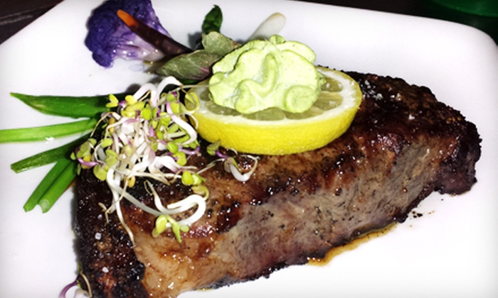 Charivari Restaurant - Midtown: Four-Course Prix Fixe Steak Dinner for Two, Four, or Six at Charivari Restaurant (Up to 55% Off)