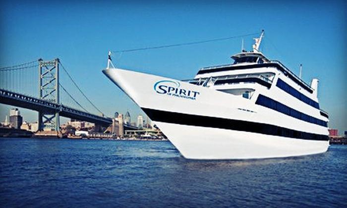 "Spirit of Philadelphia - Penn's Landing: Three-Hour Dinner Cruise Aboard ""Spirit of Philadelphia"" on Sunday–Friday or Saturday (Up to 40% Off)"