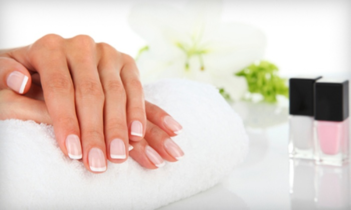 Nu Image Salon - Paradise Valley: Basic Manicure and Pedicure, or Gel Manicure and Basic Pedicure at Nu Image Salon (Up to 64% Off)