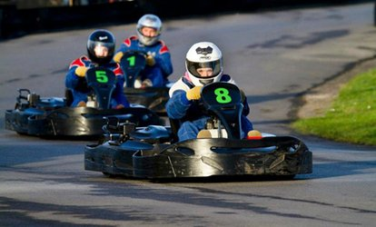 image for 80 Karting Laps for Up to Four at West Country Karting (Up to 78% Off)