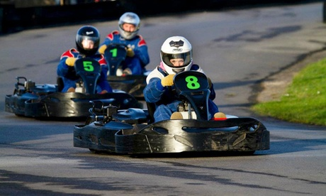 80 Karting Laps for Up to Four at West Country Karting (Up to 78% Off)