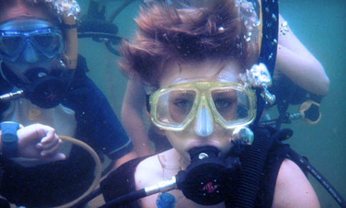Arlington Scuba Center, Inc. - Pantego: Four-Day PADI Open-Water Scuba Certification Course for One or Two at Arlington Scuba Center, Inc. (Up to 58% Off)