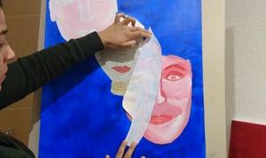 Kunstschule Atelier Sybille Kreynhop: 4 Std. Malkurs inkl. Material für 1 oder 2 Personen in der Kunstschule Atelier Sybille Kreynhop (bis zu 69% sparen*)