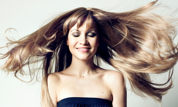 Tyler Presley Salon - Delray Beach: Haircut and Conditioning or Full Highlights with Optional Haircut and Blow-Dry at Tyler Presley Salon (Up to 60% Off)