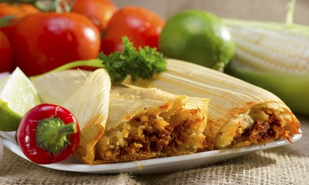 Three, Two, or One Dozen Tamales with Bottles of Hot Sauce at Badlands Tacos (Up to 54% Off)