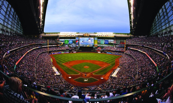 Milwaukee Brewers - Miller Park: $49 for Milwaukee Brewers Game with Beers and Buffet (Up to $69 Value). Three Seating Options and Five Games Available.