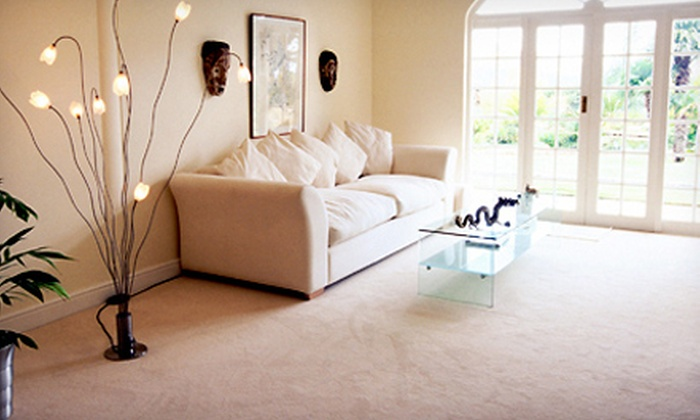 1st Choice Home Services - Northwest Austin: Carpet Cleaning for Three or Five Rooms from 1st Choice Home Services (Up to 70% Off)