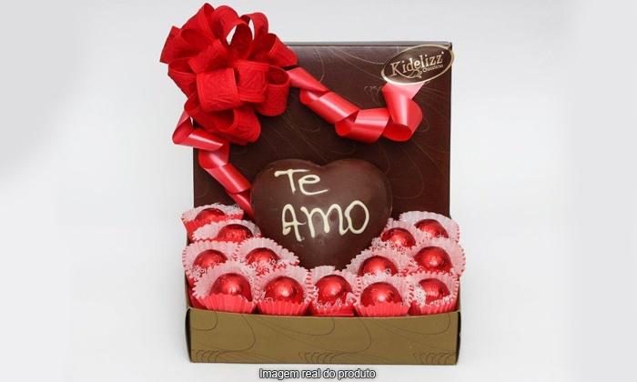 Confeitaria Q'Delicia - Farroupilha: Confeitaria Q-Delícia – 4 endereços: Kit Especial Dia dos Namorados, de R$ 32 por R$19