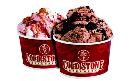 $10 for Two Groupons, Each Good for Two Like-It Sized Treats at Cold Stone Creamery ($16 Value)